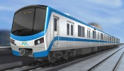 Đoàn tàu đầu tiên của tuyến Metro số 1 sắp về đến TP.Hồ Chí Minh