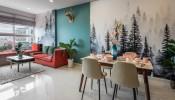 """Lạcvào """"rừng nhiệt đới"""" trong căn hộ 70m² tại TP.Hồ Chí Minh"""