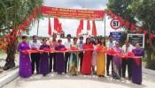 CLB Bất động sản TP.HCM khánh thành cầu Mương Sậy tặng người dân Đồng Tháp