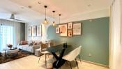 Khám phá ngay căn hộ 69m² cùng gam màu xanh mát mẻ với chi phí đáng kinh ngạc