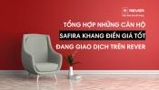 Danh sách những căn hộ Safira Khang Điền giá tốt