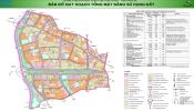 Bản đồ quy hoạch sử dụng đất phân khu S2 Hà Nội bao gồm 4 quận, huyện