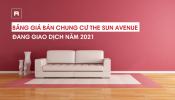 Thông tin giá bán căn hộ chung cư The Sun Avenue Thủ Đức năm 2021