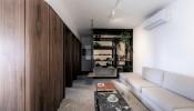 Thiết kế phòng ngủ và gian bếp giấu kín tối ưu hóa không gian sử dụng