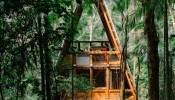 Căn nhà độc đáo giữa khu rừng nhiệt đới ở Brazil