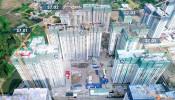 Chính thức cất nóc hai tòa thấp đầu tiên tại phân khu The Origami - Vinhomes Grand Park
