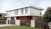 Ngôi nhà 2 tầng tiêu biểu cho xu hướng nhà tối giản mà nhẹ nhàng, hiện đại