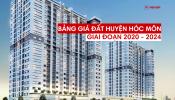 Bảng giá đất huyện Hóc Môn giai đoạn 2020 - 2024