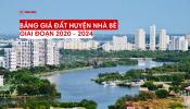 Bảng giá đất huyện Nhà Bè giai đoạn 2020 - 2024