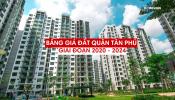 Bảng giá đất Quận Tân Phú giai đoạn 2020 - 2024