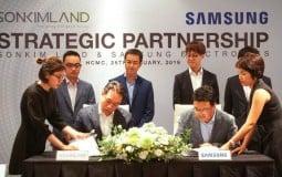 SonKim Land và Samsung Electronics ký kết hợp tác chiến lược