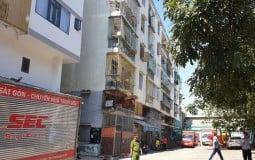 TP.HCM ra công văn khẩn xử lý chung cư nghiêng