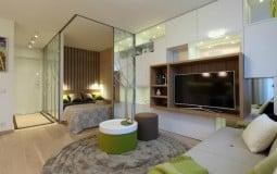 Thiết kế phòng ngủ độc đáo cho căn hộ nhỏ