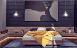 6 Thiết kế phòng ngủ master hiện đại tối màu giúp giấc ngủ ngon hơn