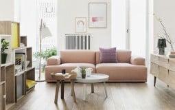7 mẫu ghế sofa 2 chỗ phong cách scandinavian phù hợp nhiều không gian