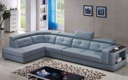 Những mẫu ghế sofa da phòng khách - sự lựa chọn hoàn hảo