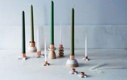 Căn hộ 'lung linh' với 13 mẫu nến cây độc đáo
