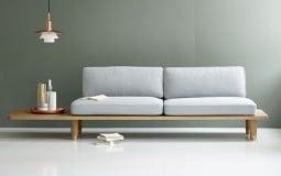 Các mẫu thiết kế Sofa ghế dài gỗ - điểm nhấn phòng khách