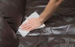 Cách giặt ghế sofa da tại nhà đúng cách