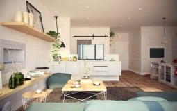 Thiết kế căn hộ 100m2 rộng như công viên