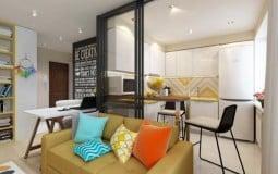 Thiết kế căn hộ chung cư diện tích nhỏ đẹp với từng diện tích