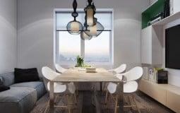Thiết kế thông minh tối ưu hóa không gian trong căn hộ 39m2