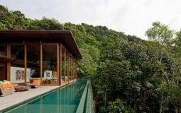 Sững sờ trước vẻ đẹp của khu biệt thự nghỉ dưỡng giữa núi rừng ở Brazil