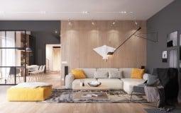 Thiết kế nội thất đẹp ngỡ ngàng trong căn hộ 292m2