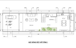 Thiết kế nhà ống 3 tầng hiện đại cho gia đình 3 thế hệ