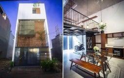 Giữa lòng Sài Gòn nhộn nhịp, L1 House được thiết kế như một mái nhà Bắc Bộ xưa cũ bình yên và dịu dàng