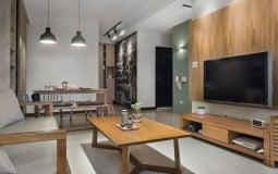 Ấn tượng với không gian hiện đại bên trong căn hộ 82m2