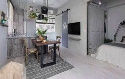 Không gian ấm cúng trong căn hộ mini của đôi bạn thân