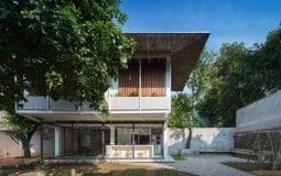 Kiến trúc độc đáo của ngôi nhà 'chồng mái' tại Thái Nguyên