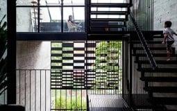 Khám phá Open House - Ngôi nhà có mặt tiền lọc ánh sáng ở Singapore