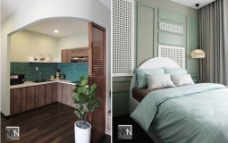 Khám phá căn hộ 65m2 Sunrise Riverside Apartment với sự phối màu thông minh