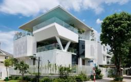 Villa Nam Đỗ - Điểm nhấn nghệ thuật từ những khối hình phá vỡ quy tắc thiết kế