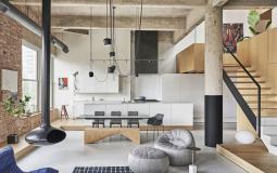 Chiêm ngưỡng thiết kế căn hộ có gác xép ở Chicago tuyệt đẹp theo phong cách nội thất Industrial