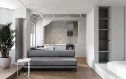Thiết kế thông minh bên trong căn hộ 30m2