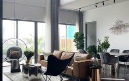 """Biến căn hộ duplex thành """"biệt thự"""" trên không độc đáo"""