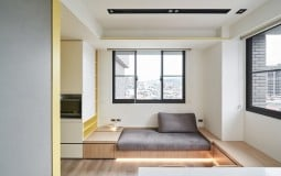 'Trầm trồ' với thiết kế không gian thông minh của căn hộ nhỏ 30m2
