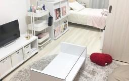 Không gian sống tinh tế  trong căn hộ 25m2 của cô gái trẻ tại Tokyo