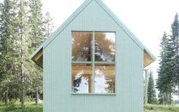 Ngôi nhà nhỏ 'đẹp như mơ' với màu xanh pastel tại Thụy Điển
