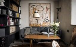 'Mê mẩn' trong không gian căn hộ 46m2 phong cách Nga cổ điển