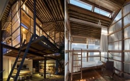 Ấn tượng với không gian yên bình bên trong homestay Sahi WD House