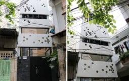 """Ấn tượng với ngôi nhà ống """"tổ ong"""" 33m2 tại Sài Gòn"""