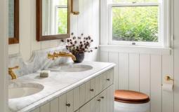 9 cách để thêm ấm áp và phong cách cho thiết kế nhà tắm hiện đại của bạn
