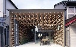 Quán cà phê Starbucks với thiết kế nội thất nghệ thuật độc đáo ở Tokyo