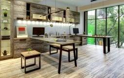 Không gian sống lãng mạn trong ngôi nhà làm từ vật liệu tái chế