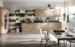Những mẫu nhà bếp thiết kế đón sáng vô cùng khoa học