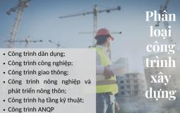 Phân loại, phân cấp các nhóm công trình xây dựng cụ thể nhất
